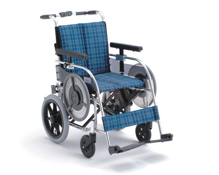 アルミ自走式車椅子 ベルト駆動 MB-43N ミキ 【smtb-kd】【介護用品】