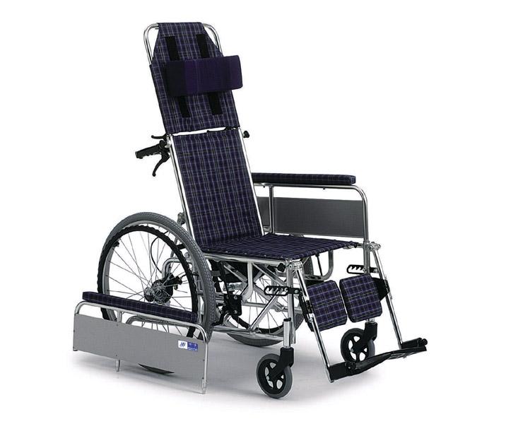 リクライニング車椅子 MUL-47D (自走式) ミキ 【smtb-kd】【介護用品】【歩行補助】