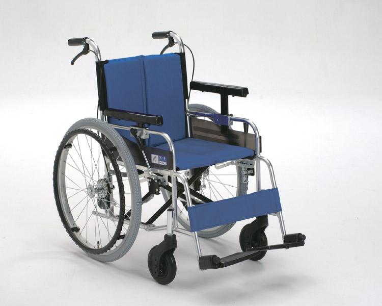 アルミ自走式車椅子 MYU226D(μ-1) μシリーズ ミキ 【smtb-kd】【車いす】【車椅子】【軽量】【折り畳み】【介護用品】