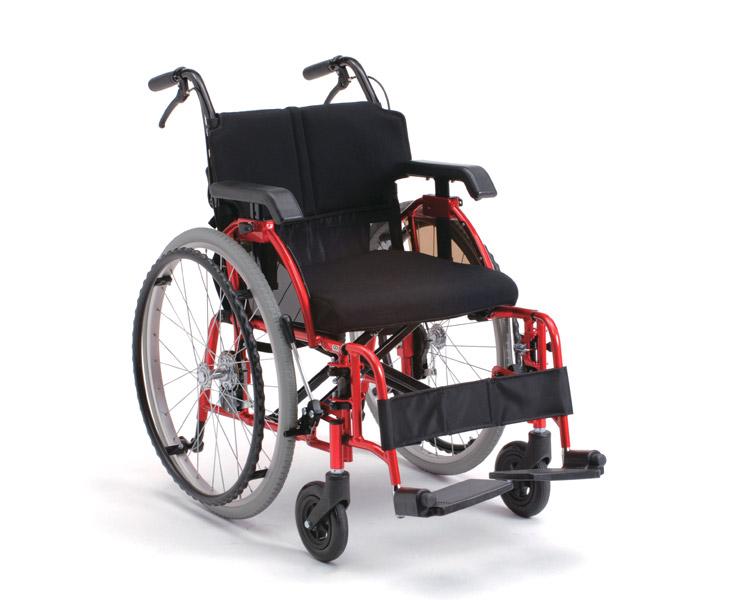アルミ自走式車椅子 ライラック・リベロ(LILAC LIBERO) ミキ・無限工房 【smtb-kd】【介護用品】