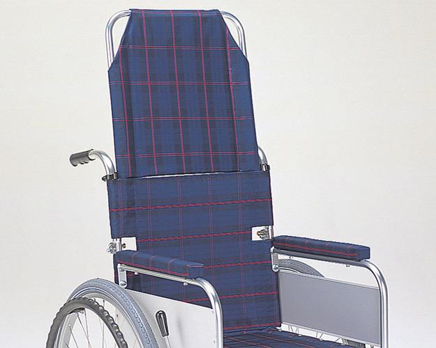 車いす オプション ヘッドレスト後付用 MS-172(ナイロンシート) ミキ車椅子 オプション パーツ販売 後付け オプション 介護 高齢者 介護用品