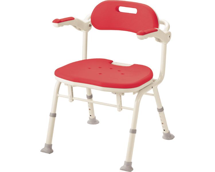 安寿 折りたたみシャワーベンチ IS(座面角型) アロン化成  【介護用品】 風呂椅子 シャワーチェア 介護 風呂いす 風呂イス 介護 椅子【smtb-kd】