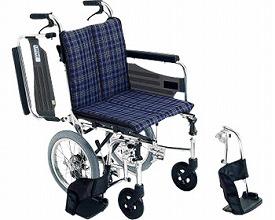 ▲アルミ介助式車椅子 SKT-2 スキット2 ミキ車いす 車イス 介助式 スキットシリーズ 介護用品