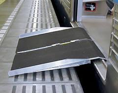 電車用ポータブルスロープ 電車用スロープ2折り90cmタイプ PVR090 イーストアイ 【smtb-kd】【介護用品】
