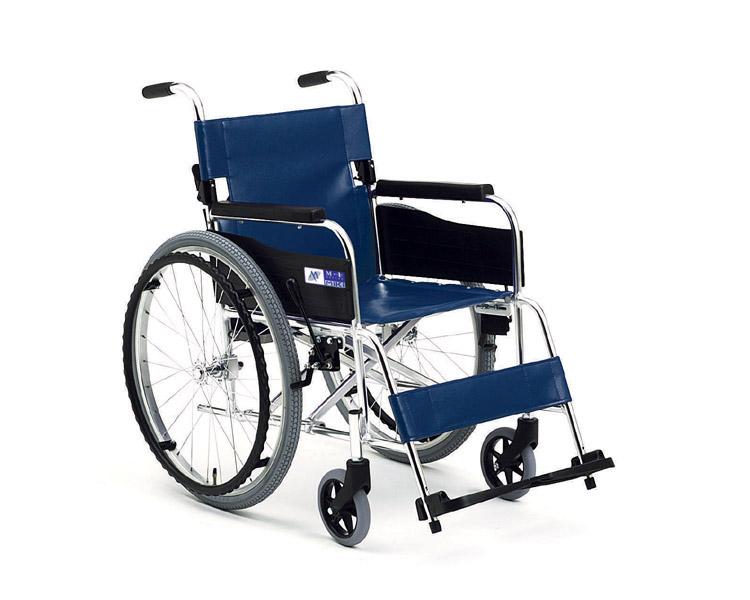 アルミ自走式車椅子 MPN-43J M-1シリーズ ミキ 【smtb-kd】【車いす】【車イス】【軽量】【折り畳み】【歩行補助】【介護用品】