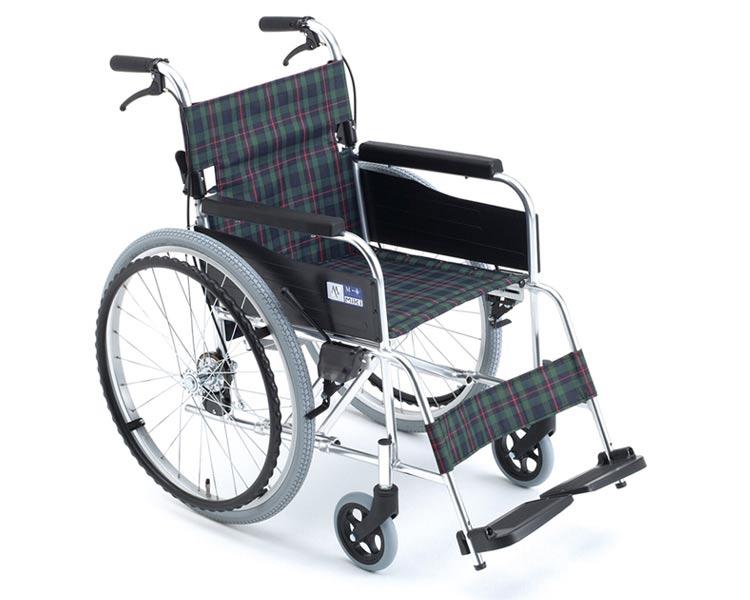 アルミ自走式車椅子 MPN-43JD MPN-40JD M-1シリーズ ミキ折りたたみ 自走 車椅子 車いす 車イス 軽量 折り畳み 高齢者 歩行補助 介護用品