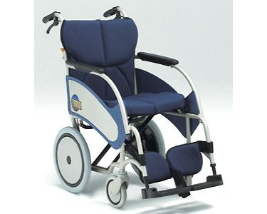 アルミ介助式車椅子 オアシス OS-02 介助ブレーキ付 (背折りたたみ) 松永製作所 【smtb-kd】【介護用品】