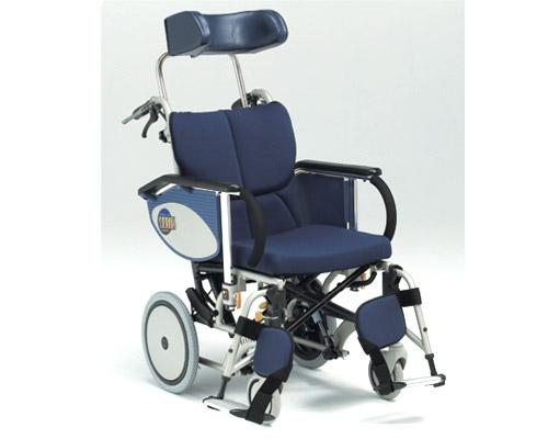 アルミ介助式車椅子 オアシス OS-12TR 介助ブレーキ付 (背折りたたみ) 松永製作所 【smtb-kd】【介護用品】