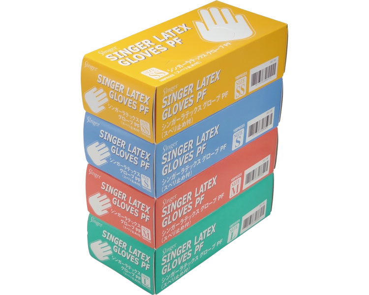 シンガーラテックスグローブPF パウダーフリー 100枚入×20箱 1ケース【smtb-kd】【介護用品】