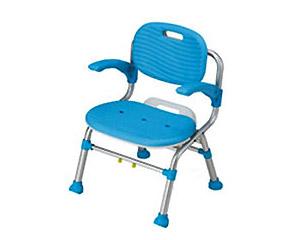 シャワーチェア(背付き) テイコブSC01 幸和製作所介護用品 風呂いす シャワーベンチ 風呂椅子 入浴介助 入浴補助用具 お風呂 いす 肘掛け付き 介護 入浴 椅子 高齢者