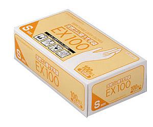【送料無料】天然ゴム極うす手袋EX100 100枚入×20箱入り ダンロップ 【smtb-kd】【介護用品】