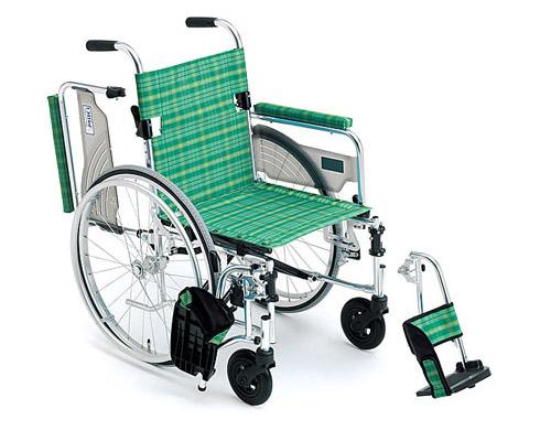 アルミ自走式車椅子 LS-43R ライトストリーム ミキ 【smtb-kd】【介護用品】【歩行補助】【自走型車いす】【車イス】