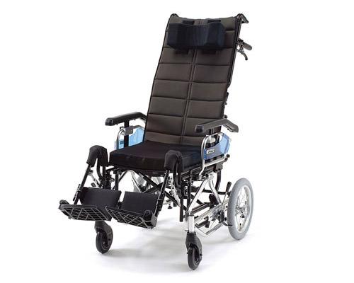リクライニング車椅子 GF-sp (グランドフリッチャーシルバーパッケージ) ミキ 【smtb-kd】【介護用品】