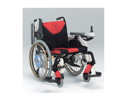 電動車いす(電動ユニット付車椅子) MY-1JWX 松永製作所 【smtb-kd】【介護用品】