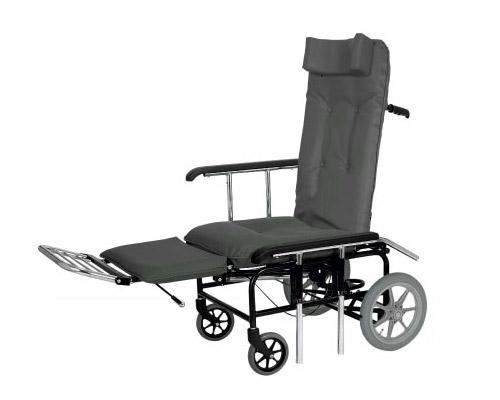 フルリクライニング1880mmシリーズ 背・足元独立型フルリクライニング車椅子 カームL No.288 睦三 【smtb-kd】【介護用品】【フルリク 車いす】