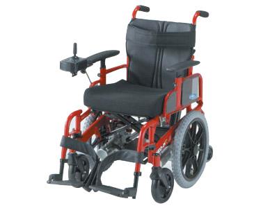 2分割コンパクト6輪電動車いす NEO-PR 標準仕様 日進医療器 【smtb-kd】【介護用品】