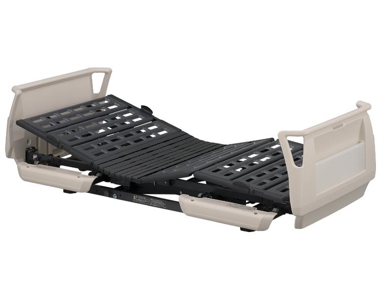 楽匠Sシリーズ(らくらくタイプ) らくらくモーション付き電動ベッド セーフティーラウンドボード(樹脂製) レギュラータイプ 91cm幅 KQ-9630 パラマウントベッド 【介護用品】