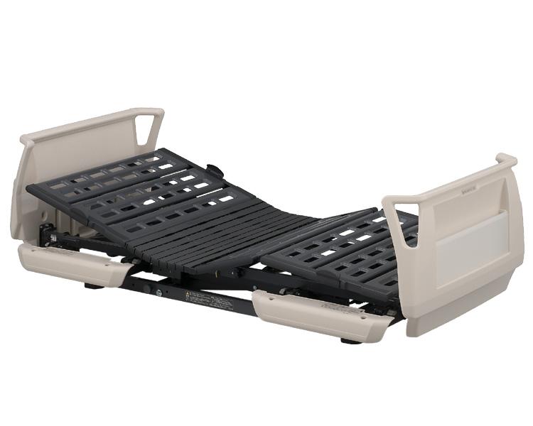 楽匠Sシリーズ(らくらくタイプ) らくらくモーション付き電動ベッド セーフティーラウンドボード(樹脂製) ミニタイプ 91cm幅 KQ-9620 パラマウントベッド 【介護用品】