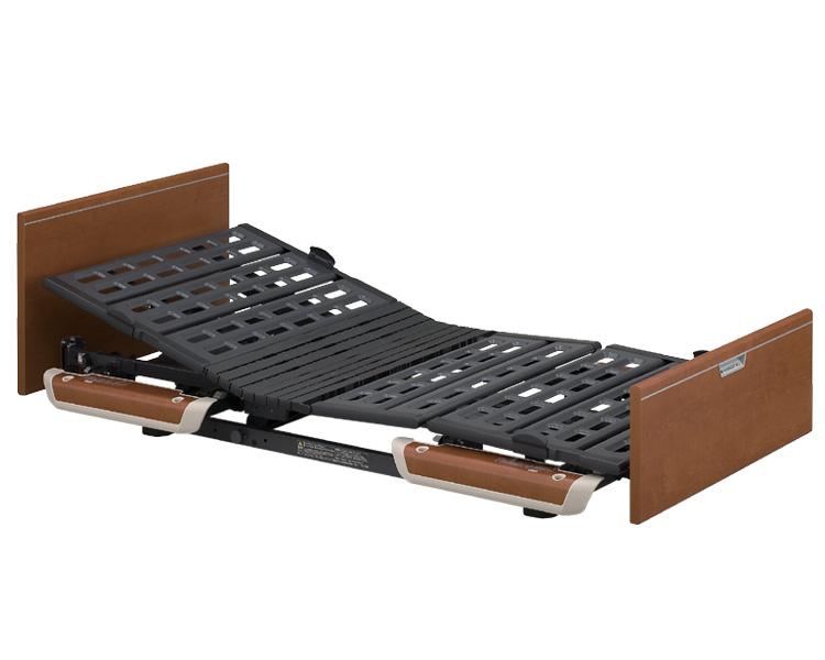 楽匠Sシリーズ 3モーター電動ベッド 木製ボード レギュラータイプ 91cm幅 KQ-9332 パラマウントベッド 【介護用品】