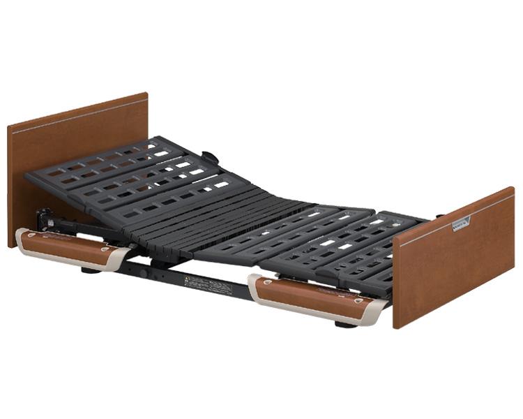 楽匠Sシリーズ 1モーター電動ベッド 木製ボード ミニタイプ 91cm幅 KQ-9122 パラマウントベッド 【介護用品】