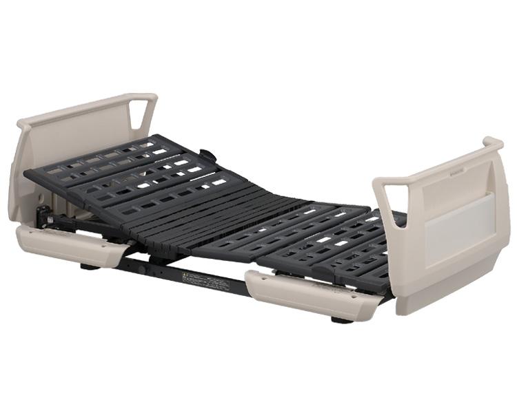 楽匠Sシリーズ 1モーター電動ベッド セーフティーラウンドボード(樹脂製) ミニタイプ 91cm幅 KQ-9120 パラマウントベッド 【介護用品】