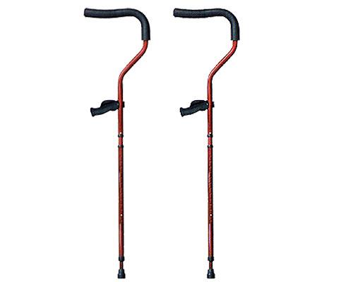 松葉杖 折りたたみ松葉杖 ミレニアル・プロ (2本1組) レギュラーサイズ プロト・ワン松葉杖 歩行補助 ステッキ 杖 介護 高齢者 介護用品 セット