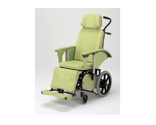 フルリクライニング車いす RJ-360 いうら介護 車いす 車イス 車椅子 フルリク 介護 高齢者 フルフラット 介護用品 福祉用具