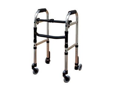 歩行器 ニフレームウォーカー・キャスターモデル S WFM-4262SW3GW シンエンス歩行器 介護 歩行補助 キャスター付き 手押し車 老人 介護用品