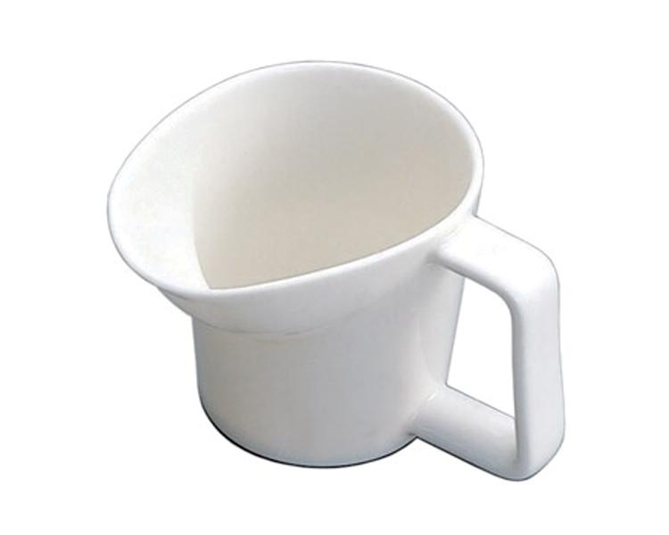 寝たまま飲める陶器のカップ 介護用コップ ベストカップ 特殊衣料介護 コップ カップ 便利 食器 介護 ユニバーサルデザイン シニア 高齢者 介護用品