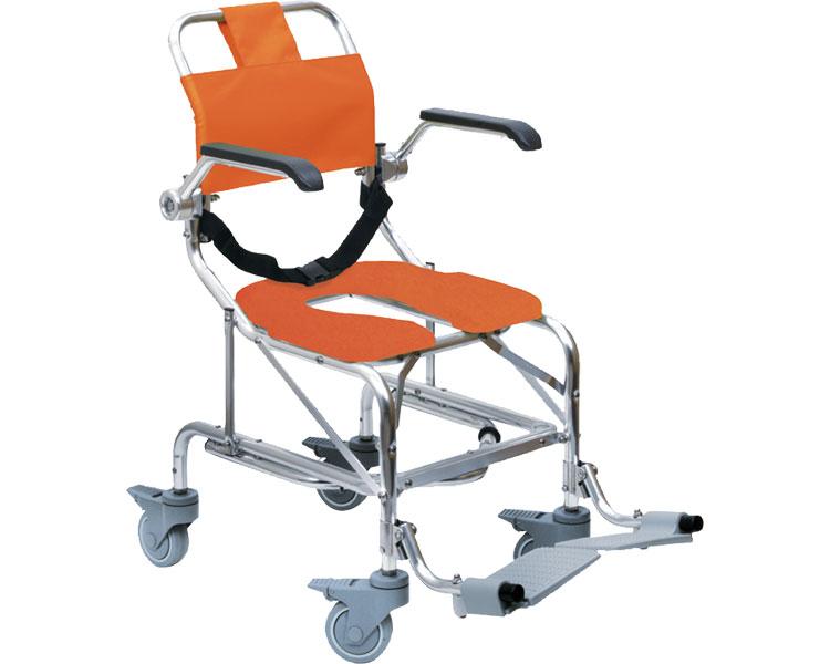 シャワーキャリー LW No.5001 睦三シャワー用車いす 車椅子 福祉用具 介護用品 車イス 入浴用 送料無料