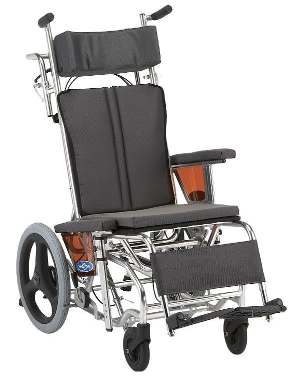 車椅子 ティルト&リクライニング 介助用車いす NAH-W1/ 日進医療器【送料無料】車いす リクライニング 介助用車椅子【介護用品】【smtb-kd】