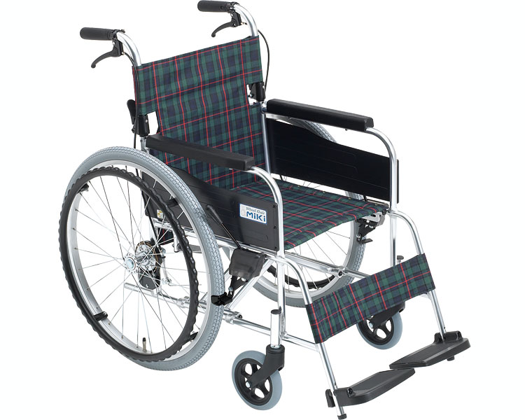 アルミ自走用車いす M-1シリーズ MPN-40JD 低床タイプ ミキ 【smtb-kd】【介護用品】【車椅子】【車イス】【自走式】【歩行補助】