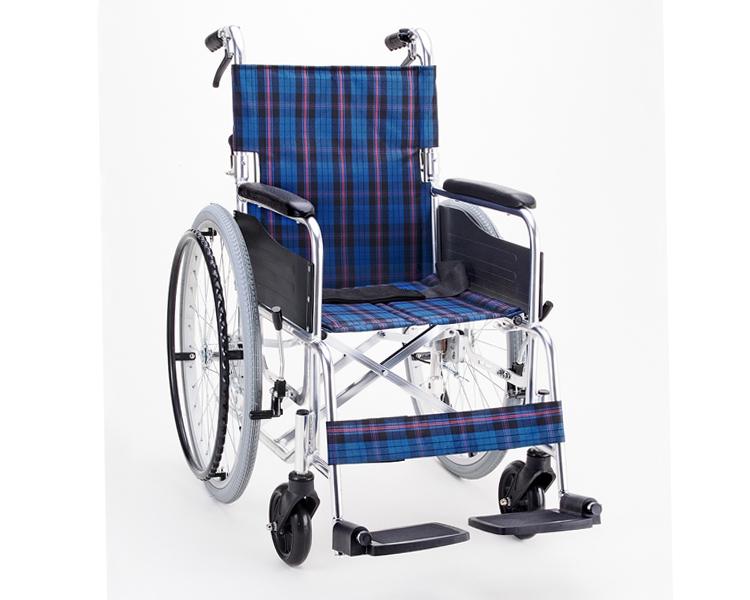 車椅子 アルミ自走用車いす セレクト50 背折・介助ブレーキ付 KS50 マキテック車いす 折りたたみ 介護用品