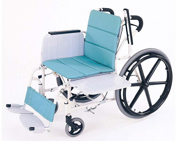 【廃盤】 横乗り車椅子ラクーネ 介助ブレーキ付き いうら 【smtb-kd】【介護用品】