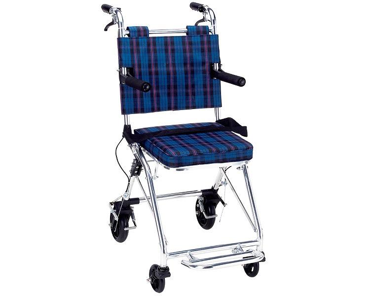 コンパクト車いす カルティ NP-200NC マキテック軽量 コンパクト車椅子 車いす 車イス 介護用品 旅行 お出かけ 通院 折りたたみ 折り畳み