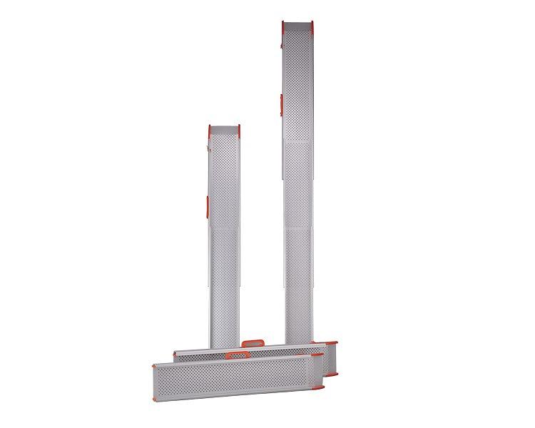 スロープ 段さ ポータブルスロープ スライドスロープ 長さ300cm/ESK300R 2本1組 イーストアイ 【smtb-kd】【段差スロープ】【介護用品】