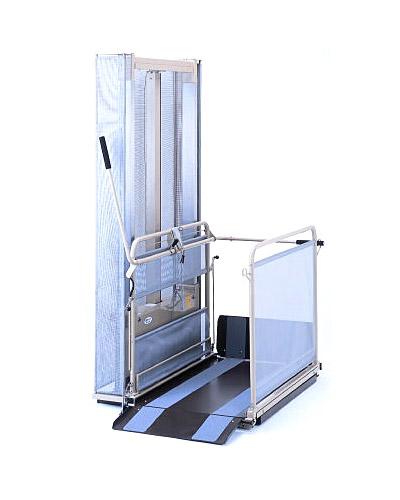車椅子用電動昇降機/UD-800 いうら 【車椅子 昇降機】【段差解消】【smtb-kd】【介護用品】