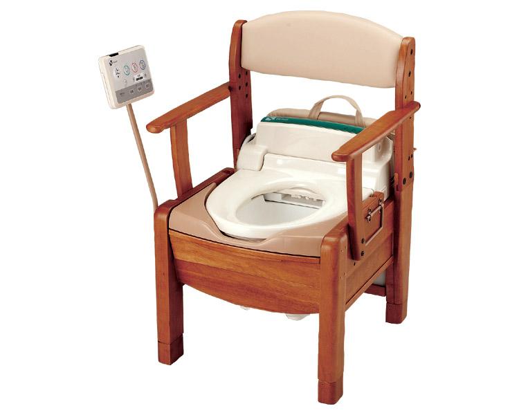 シャワーポータブルトイレ きらく S型/48841 リッチェル 【smtb-kd】【介護用品】