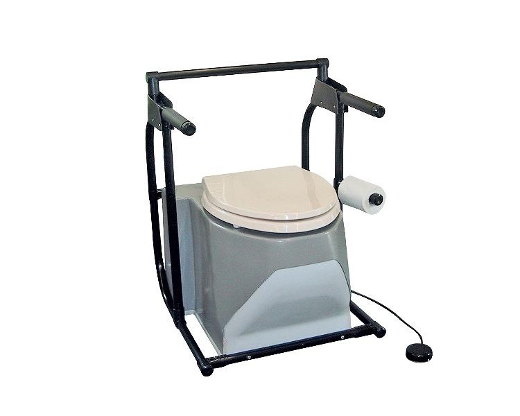 ● ポータブルトイレ 水洗式 流せるポータくん SPF05-HO アム介護用品 ポータブルトイレ 福祉用具