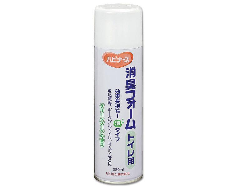ポータブルトイレ 消臭剤 消臭フォームトイレ用 380ml 数量限定 介護用品 10615 商い ピジョン