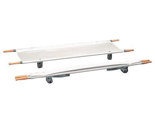 二つ折り担架 取付伸縮型 アルミ/OT-6 ナビス 【smtb-kd】【介護用品】