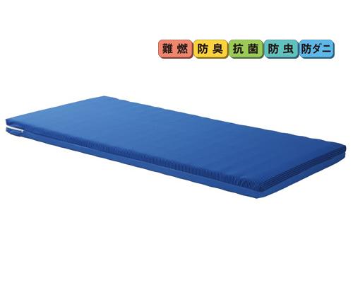 ニューポイントマットレス ショートサイズ 幅90cm×厚さ8cm PKM-9080S プラッツ 【介護用品】