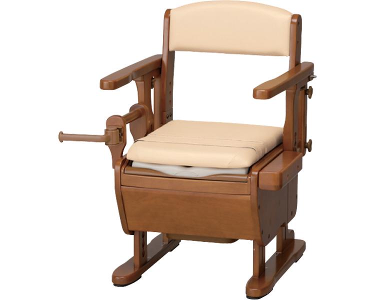 家具調トイレセレクトシリーズ はね上げトランスファーボードタイプ L/870-058 暖房・快適脱臭 アロン化成 【smtb-kd】【介護用品】