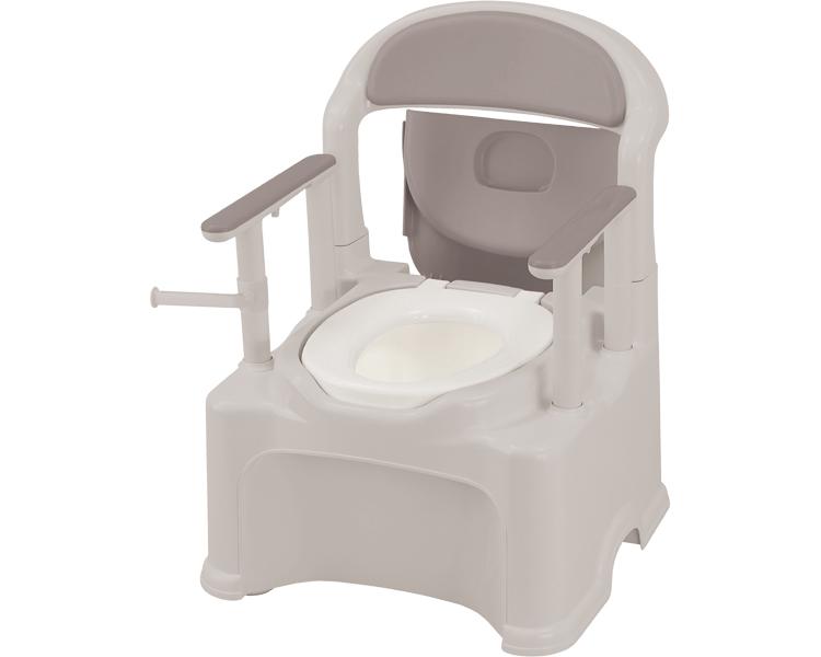 ポータブルトイレ きらく P2シリーズ PS2型 標準便座タイプ 47530 リッチェルポータブルトイレ 送料無料 介護用品 樹脂製トイレ 在宅介護 トイレ