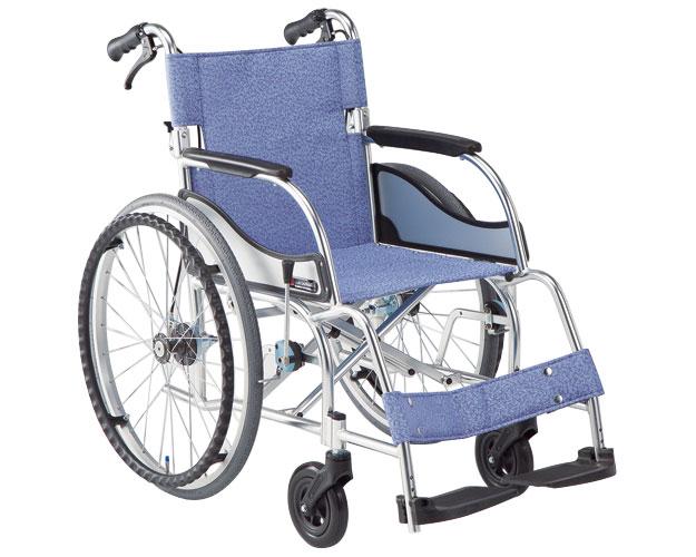 アルミ自走式車椅子 エアリアル MW-SL11B 介助ブレーキ付(MW-SL1Bの後継商品です) 松永製作所 【smtb-kd】【介護用品】