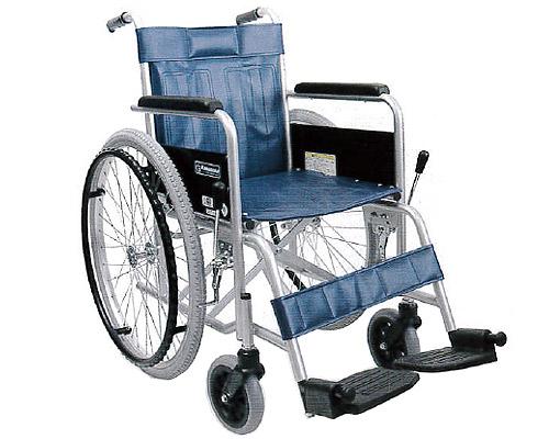 スチール自走用車いす KR801N ソフトタイヤ仕様 (KR801Nソフト) カワムラサイクル 【smtb-kd】【介護用品】【車イス/車椅子/自走式】【病院・施設向け】