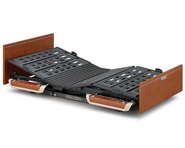 楽匠Sシリーズ 2モーター電動ベッド 木製ボード レギュラータイプ 100cm幅 KQ-9252 パラマウントベッド 【介護用品】