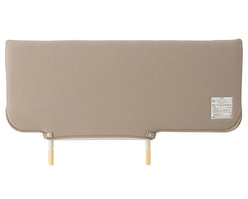 ソフトカバー付きベッドサイドレール KS-126WC パラマウントベッド 【介護用品】