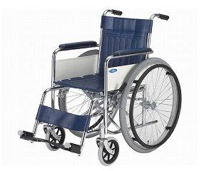 車椅子 スチール製標準型車いす ND-1(TY-1の後継商品) 日進医療器介護用品 車いす 自走式車椅子 車イス 歩行補助 福祉用具 高齢者