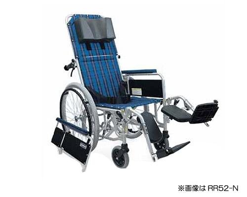 アルミ製フルリクライニング自走用車椅子 RR52-NB (RR50-NBの後継商品です) カワムラサイクル 【smtb-kd】【介護用品】【フルリク】【介護タクシー】【ストレッチャー】【車イス 車いす】【自走式】